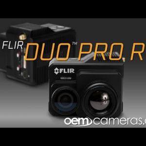 FLIR DUO PRO R 336 x 256 9mm 35°HFoV - LWIR HD DUAL-SENSOR THERMAL CAMERA