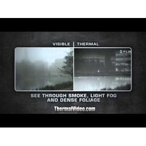 FLIR LS-XR 35mm <9 Hz TACTICAL HANDHELD THERMAL MONOCULAR