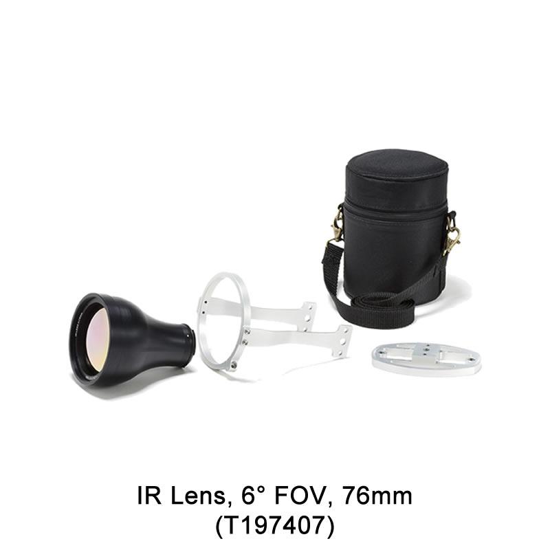 IR Lens, 6° FOV, 76mm (T197407)