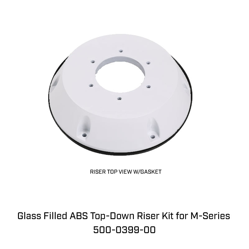 Glass Filled ABS Top-Down Riser Kit for M-Series