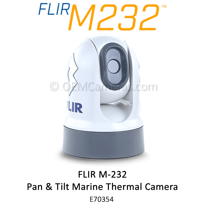 FLIR M232 Pan & Tilt Marine Thermal Camera