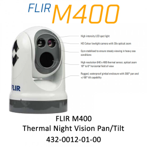 FLIR M400 Thermal Night Vision Pan/Tilt Camera