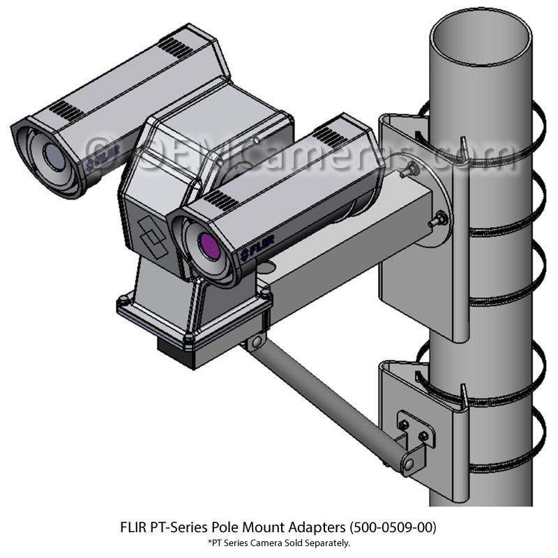 FLIR PT-Series Large Pole Adapter
