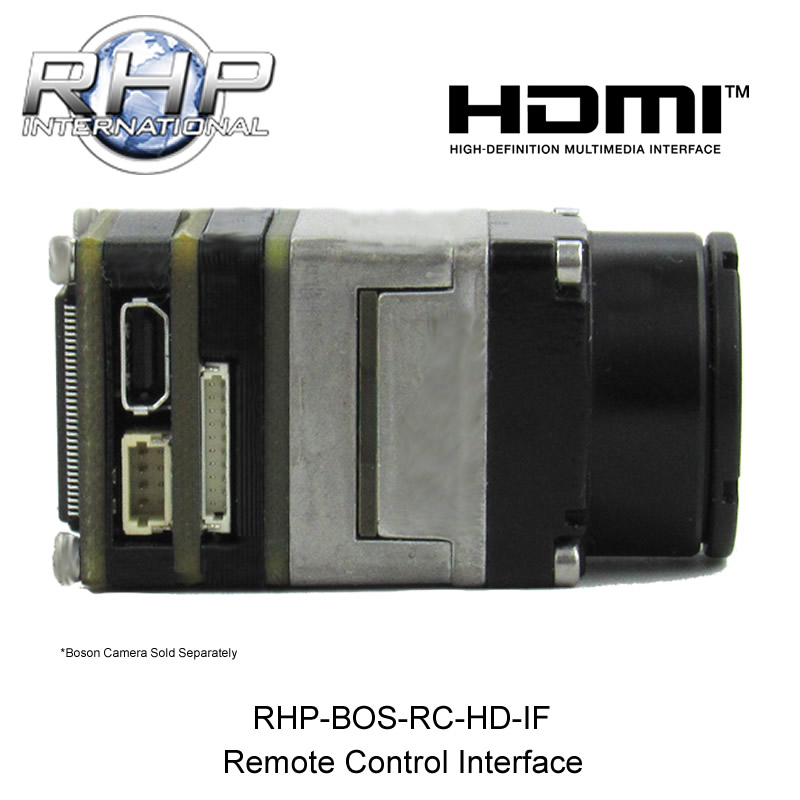 RHP Boson RC-HD-IF Remote Control Interface