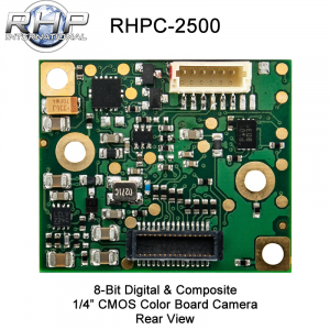 RHPC-2500 - 1/4'' CMOS Color Board Camera