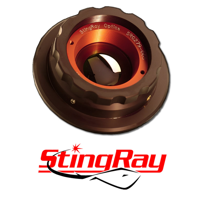 StingRay 75mm F/1.4 SWIR Adjustable Focus and Iris