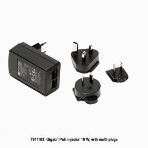 FLIR Gigabit PoE injector 16W, with multi-plugs