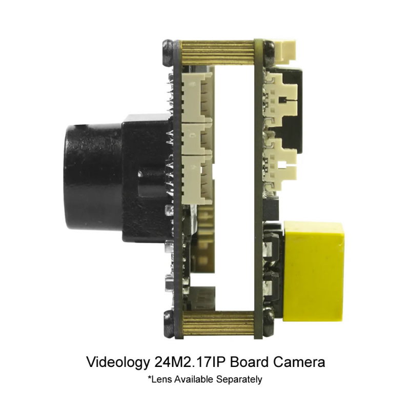 Videology 24M21.17IP 2MP IP Board Camera with DOL WDR