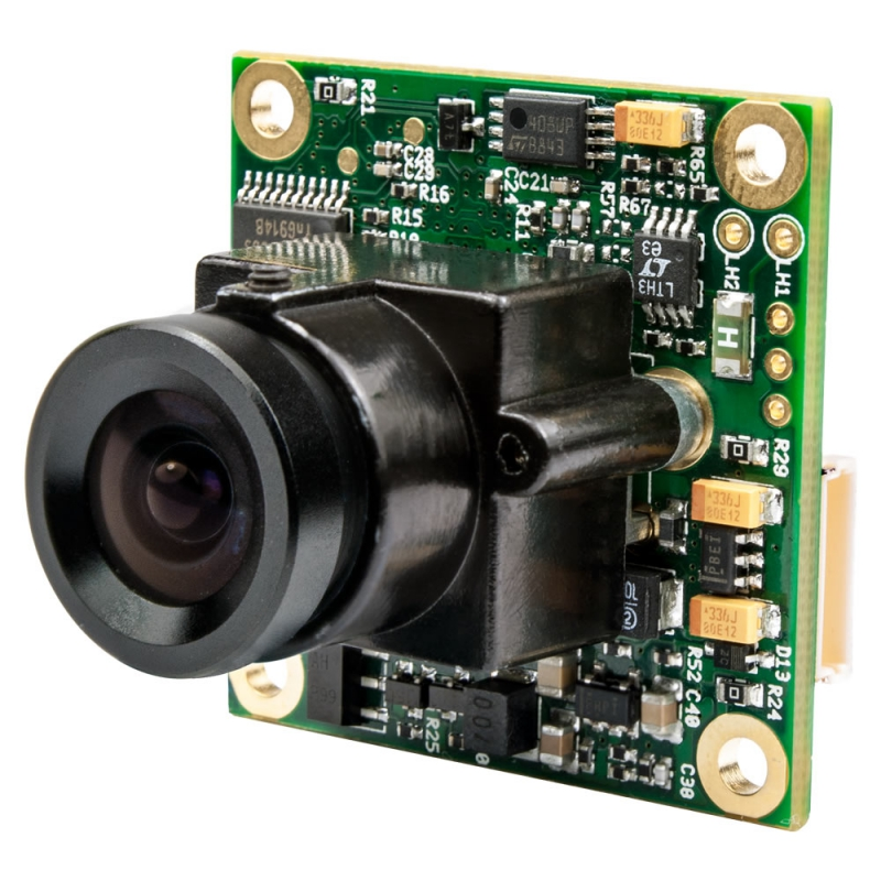 Videology 21D20X  1/3 in. PAL Color Board Camera