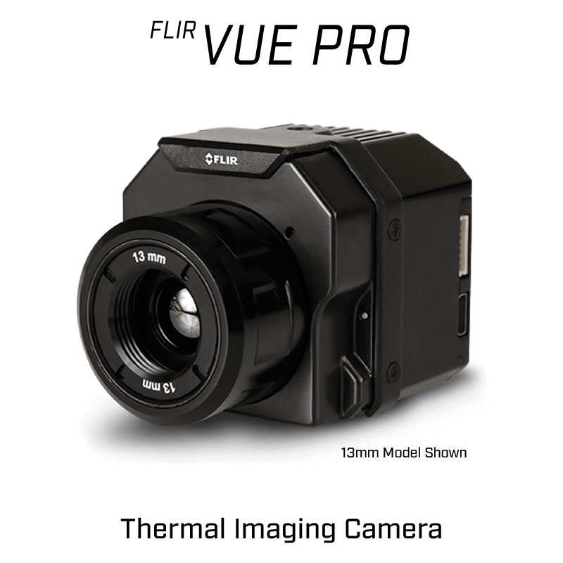 FLIR VUE PRO 336 x 256 9MM 35° HFOV - LWIR Thermal Camera for Drones 30Hz