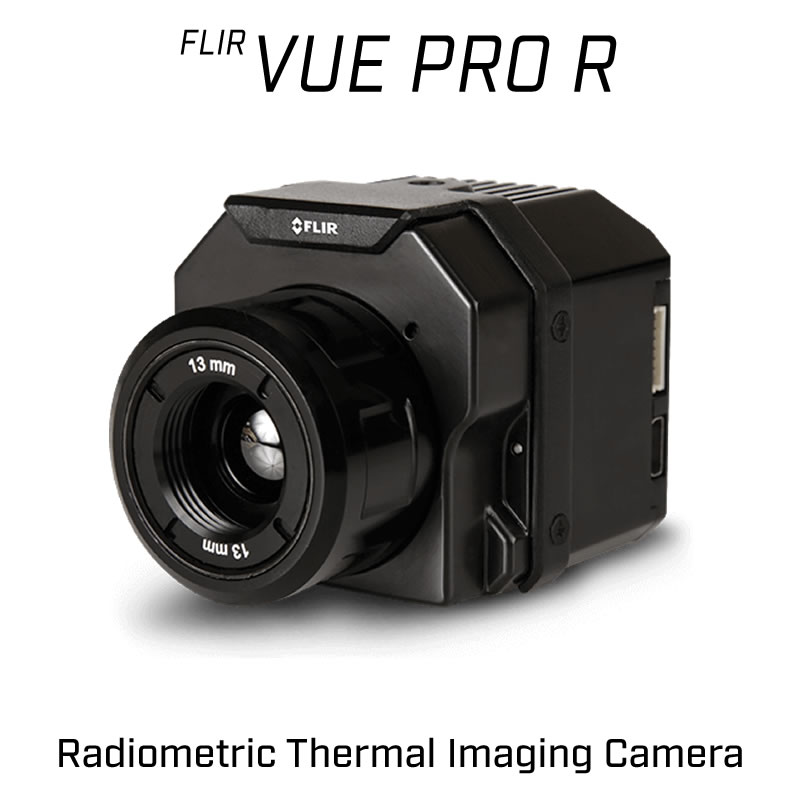 FLIR VUE PRO R 336 x 256 9MM 35° HFOV - LWIR Radiometric Thermal Camera for Drones <9Hz
