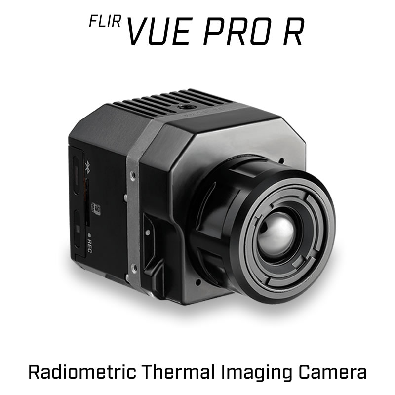 FLIR VUE PRO R 336 x 256 6.8MM 45° HFOV - LWIR Radiometric Thermal Camera for Drones <9Hz