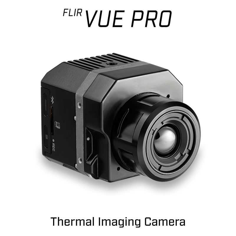 FLIR VUE PRO 640 x 512 35MM 18° HFOV - LWIR Thermal Camera for Drones 30Hz