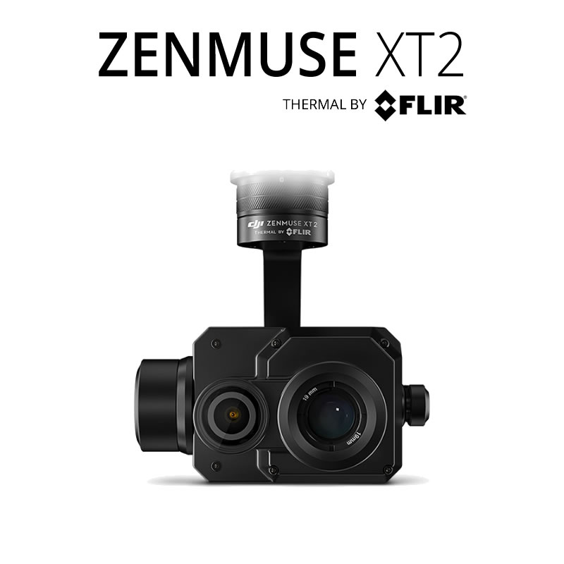 DJI Zenmuse XT2 640 x 512 45°HFoV - LWIR Dual Sensor Thermal Gimbal