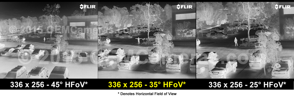 FLIR VUE PRO R 336 Thermal Imager 9mm Lens - 30/60Hz Image Comparison
